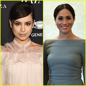 Sofia Carson Looks Up To Meghan Markle For This Inspiring Reason