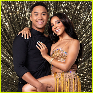 Brandon Armstrong & Tinashe Rocked The Dance Floor With A Jive on DWTS 27 Premiere