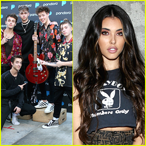 Why Don't We Perform at Pandora's Pop Coast Hits Event with Madison Beer