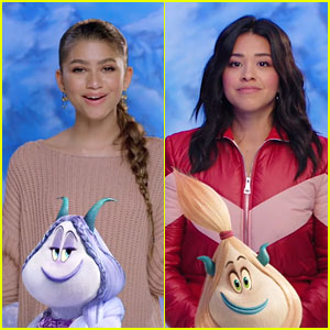 Zendaya & Gina Rodriguez Dish on Their 'Smallfoot' Characters - Watch Now! (Exclusive)