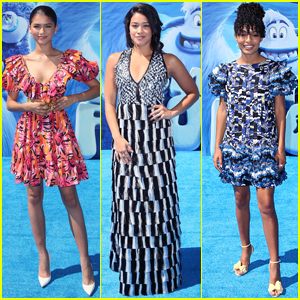 Zendaya, Gina Rodriguez, & Yara Shahidi Step Out for 'Smallfoot' Premiere!