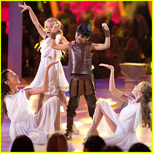 DWTS Juniors: Spelling Bee Champ Akash Vukoti Jives To 'Hercules' on Disney Night - Watch Now!