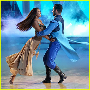 Alexis Ren Channels Pocahontas For Disney Night on 'Dancing With The Stars' Week #5