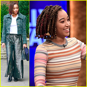 Amandla Stenberg Talks About The Reaction 'The Hate U Give' Is Getting