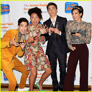 Asher Angel, Peyton Elizabeth Lee, Joshua Rush & Sofia Wylie Honored With Social Awareness Award at Looking Ahead Awards 2018
