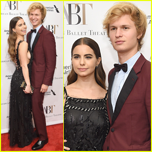 Ansel Elgort & Violetta Komyshan Are a Picture Perfect Couple at American Ballet Theatre Gala!