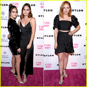 Bailee Madison Joins Liana Liberato & Haley Ramm at Nylon's It Girl Party