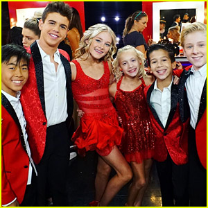 'DWTS Juniors' Pros Perform with Jordan Fisher on 'DWTS' Disney Night - Watch Now!