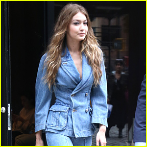 Gigi Hadid Looks Chic in Denim While Stepping Out in NYC!