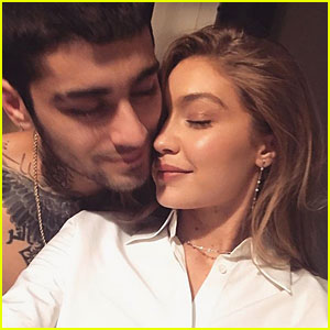 Gigi Hadid Calls Zayn Malik Her 'Happy Place' in Adorable Instagram Post