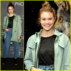 Holland Roden Celebrates Wildlife with National Geographic at Photo Ark Exhibit