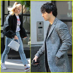 Joe Jonas Dons Leopard-Print Coat After Getting Matching Tattoos With Sophie Turner