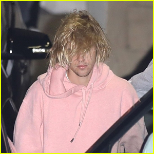 Justin Bieber Goes Solo to Church in Beverly Hills