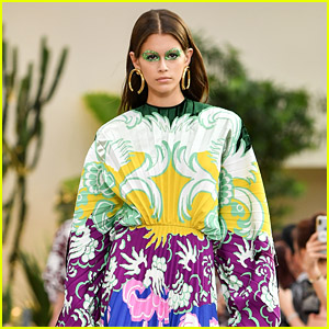 Kaia Gerber Hits the Runway at Valentino Fashion Show in Paris!