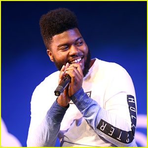 Khalid Attends Hollister x Sit With Us Anti-Bullying Event at a California High School!