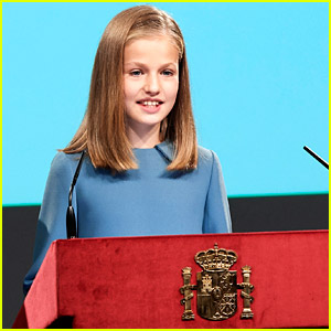 Princess Leonor of Spain Gives First Public Speech On 13th Birthday
