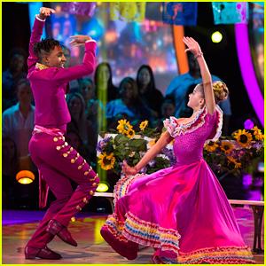 DWTS Juniors: Mandla Morris & Brightyn Brems Dance To Coco's 'Un Poco Loco' on Disney Night - Watch Now!