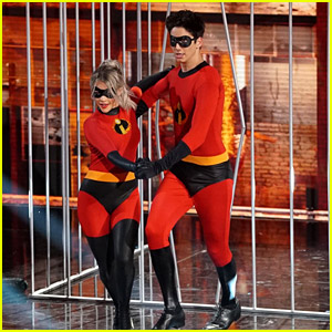 Milo Manheim Is Mr. Incredible on DWTS' Disney Night - Watch Now!