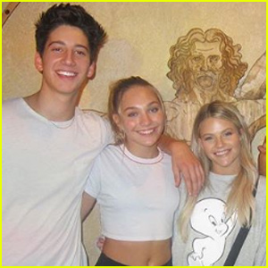 We Finally Know Who Witney Carson Wanted Milo Manheim to Date!