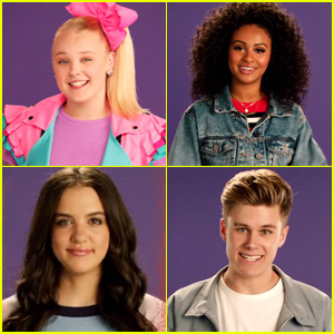 JoJo Siwa Joins Daniella Perkins, Lilimar & Other Nickelodeon Stars to Stomp Out Bullying