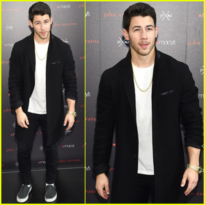 Nick Jonas Brings 'JVxNJ' Collab to NYC!