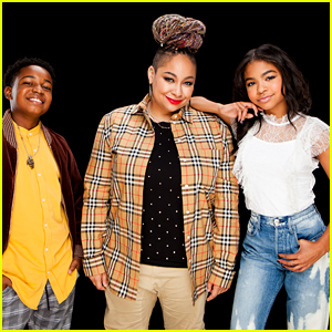 Raven-Symone, Navia Robinson & Issac Ryan Brown Chat All About 'Raven's Home's Musical Episode