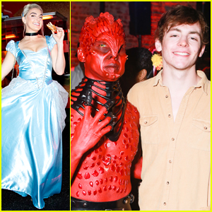 Ross Lynch Hangs Out at Just Jared's Halloween Party with His Siblings!