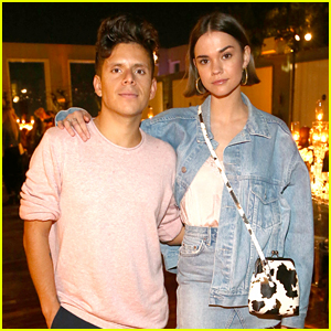 Maia Mitchell Supports Rudy Mancuso at Taste Of SBE Performance for Make-A-Wish