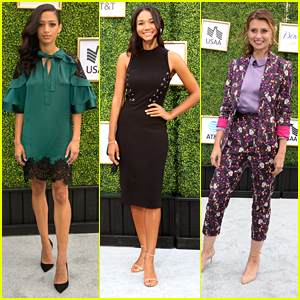 'All American' Beauties Samantha Logan & Greta Onieogou Hit Up CW's Fall Launch Party