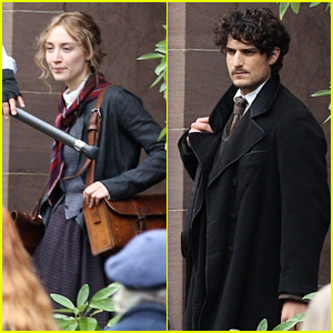 Saoirse Ronan Films 'Little Women' in Boston - See Photos!