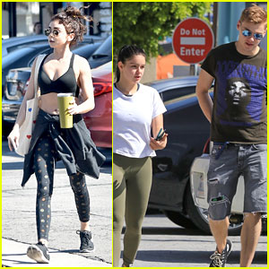 Sarah Hyland & Ariel Winter Stay in Shape Together!