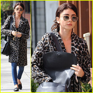Sarah Hyland Channels Her Inner Cheetah Girl