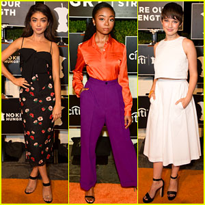 Sarah Hyland, Skai Jackson, & Cailee Spaeny Unite for No Kid Hungry Dinner