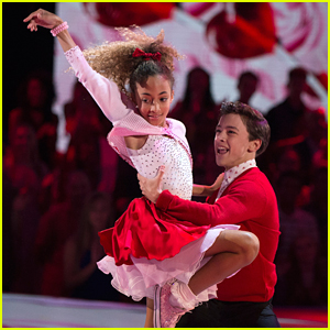 DWTS Juniors: Model Sophia Pippen & Jake Monreal Give Us A Fun '50s Jive - Watch Now!