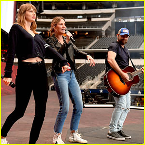 Taylor Swift Brings Sugarland To Final North American 'reputation Tour' Stop in Dallas
