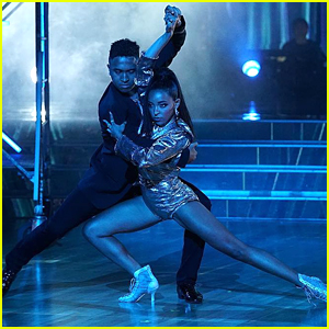 Tinashe & Brandon Armstrong Slay Their Argentine Tango on 'Dancing With The Stars' Week #2