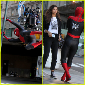 Zendaya Films Another 'Spider-Man' Scene at NYC's Grand Central Station