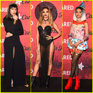 Vanessa Morgan, Dinah Jane & Daniella Perkins Enchant Us At JJ's Halloween Party 2018!