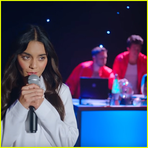 Vanessa Hudgens & Phantoms Bring 'HSM' Back to Life in 'Lay With Me' Music Video - Watch Now!
