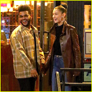 Bella Hadid & The Weeknd Cuddle Up During a Cute Date in New York City!