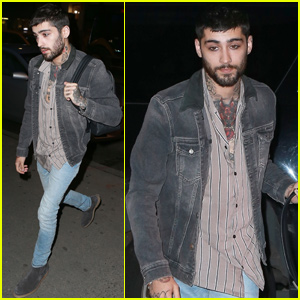 Zayn Malik Works On More New Music in NYC!