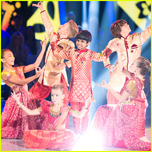 Spelling Bee Champ Akash Vukoti Brings Bollywood To 'DWTS Juniors' - Watch Now!