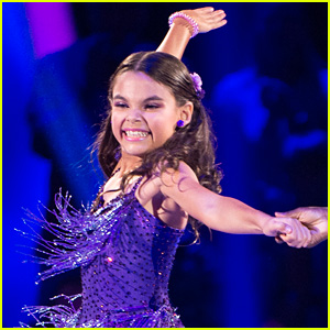 DWTS Juniors' Ariana Greenblatt Says Her Salsa Was Extra Special - Read Her Blog Here (Exclusive)