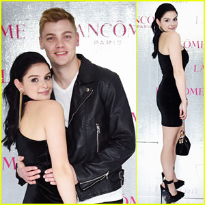 Ariel Winter Stuns in Little Black Dress at Holiday Event With Levi Meaden