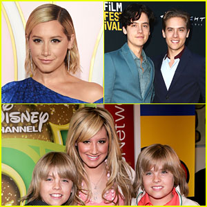 Ashley Tisdale Says Dylan & Cole Sprouse Are 'Very Good Looking' Now