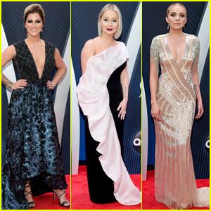 Cassadee Pope, Raelynn, & Danielle Bradbery Go Glam for CMA Awards 2018!