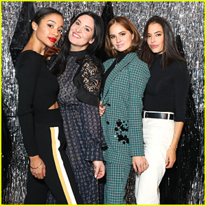 Debby Ryan Joins 'Insatiable' Co-Stars at Aldo & Refinery29's Dinner