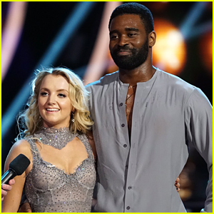 Evanna Lynch & Keo Motsepe Amaze With Perfect Rumba on Country Night on 'DWTS' - Watch Now!