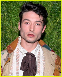 You Must See Ezra Miller's Premiere Look For 'Crimes of Grindelwald' in Paris