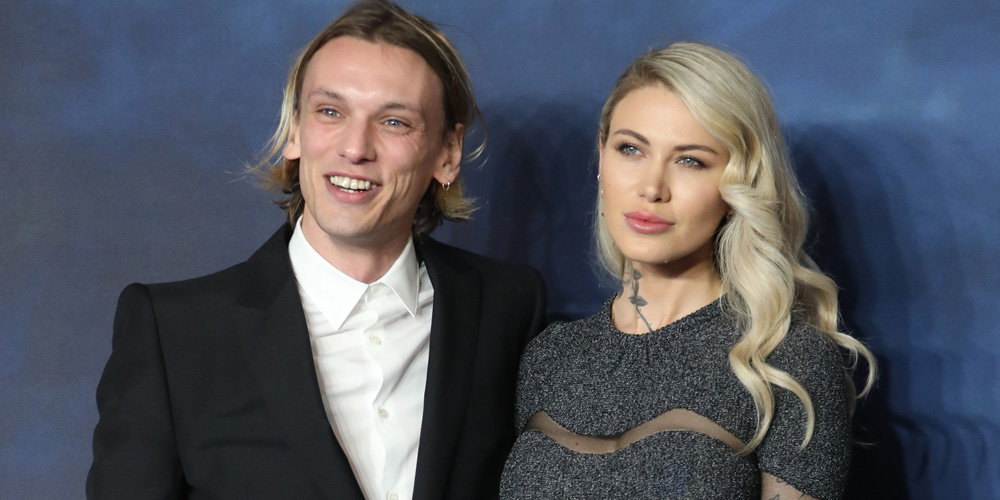 jamie campbell bower brings girlfriend ruby quilter to
